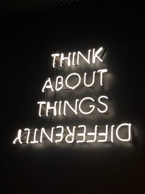 Think About Things Differently  poster